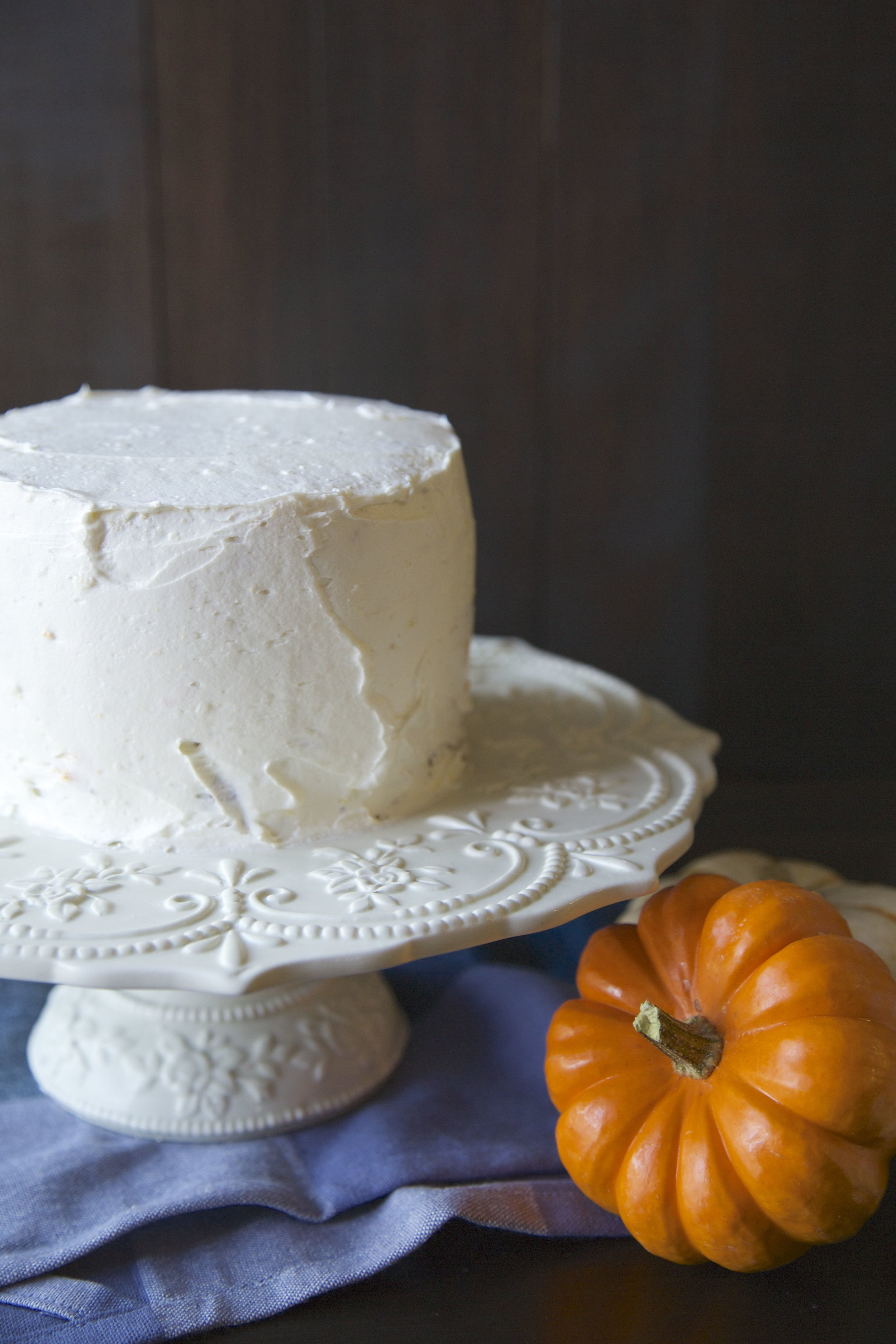 Halloween Ombre Cake