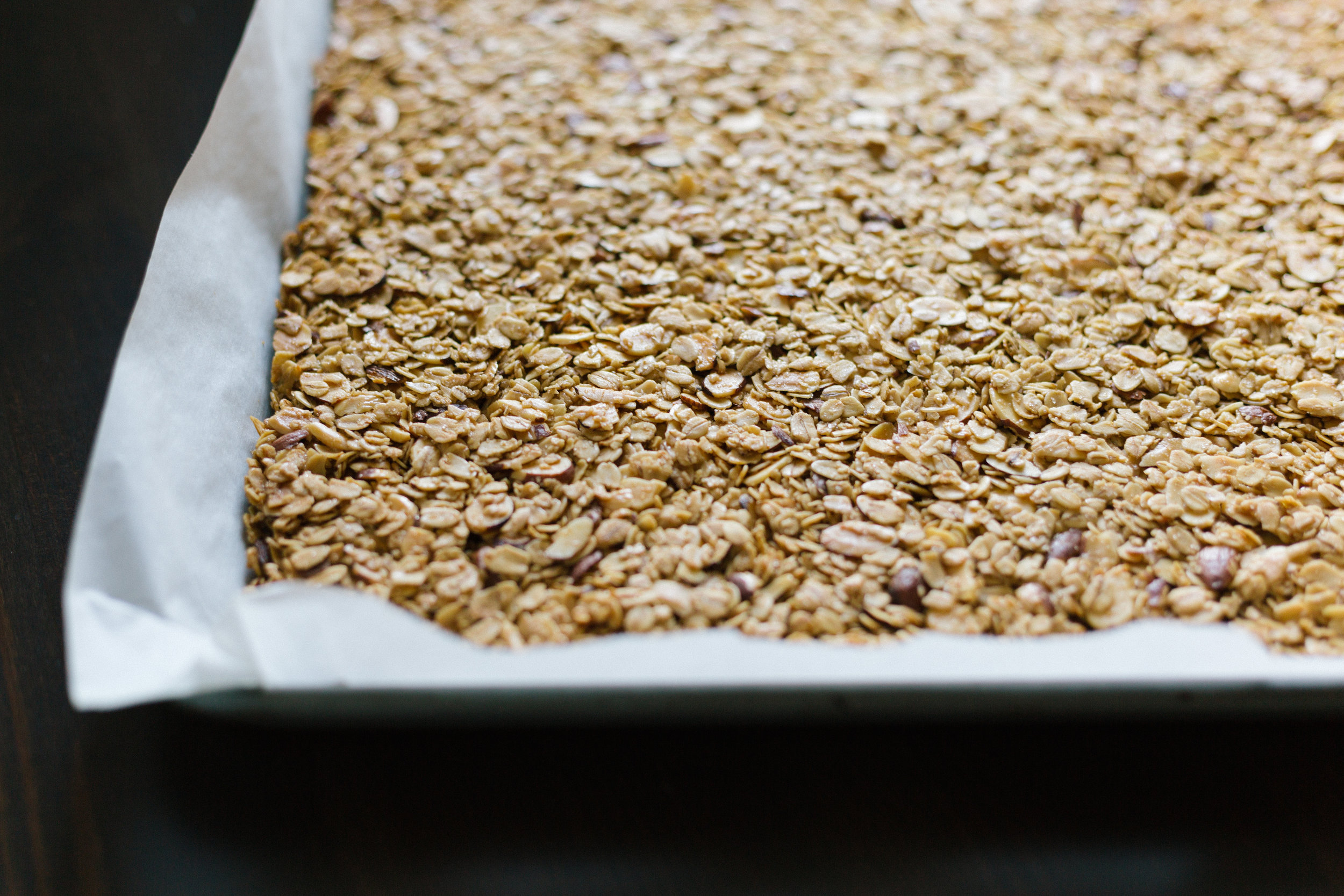 Almond Granola with Cranberries and Coconut