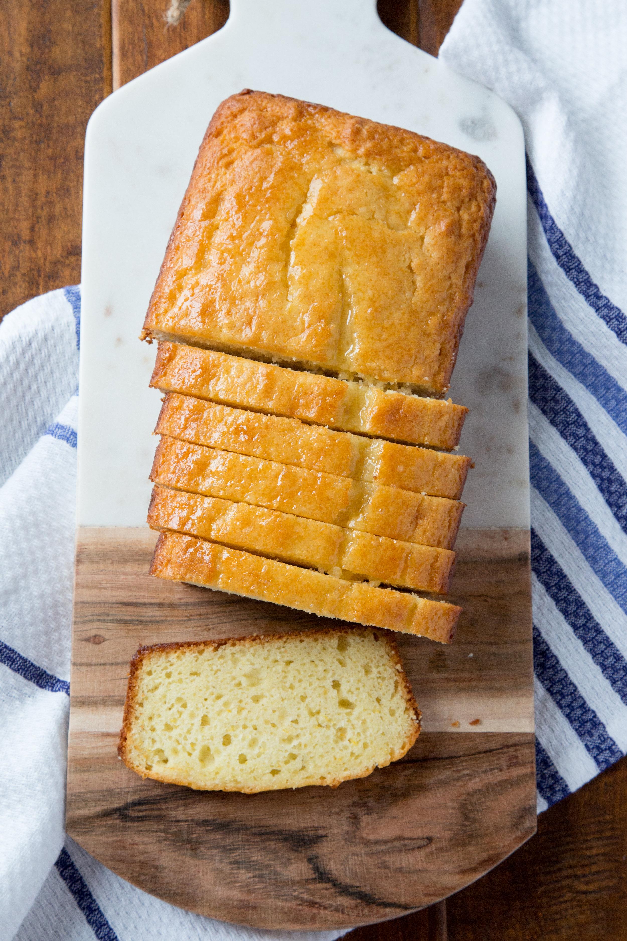 Lemon Yogurt Bread | Soymilk + Honey