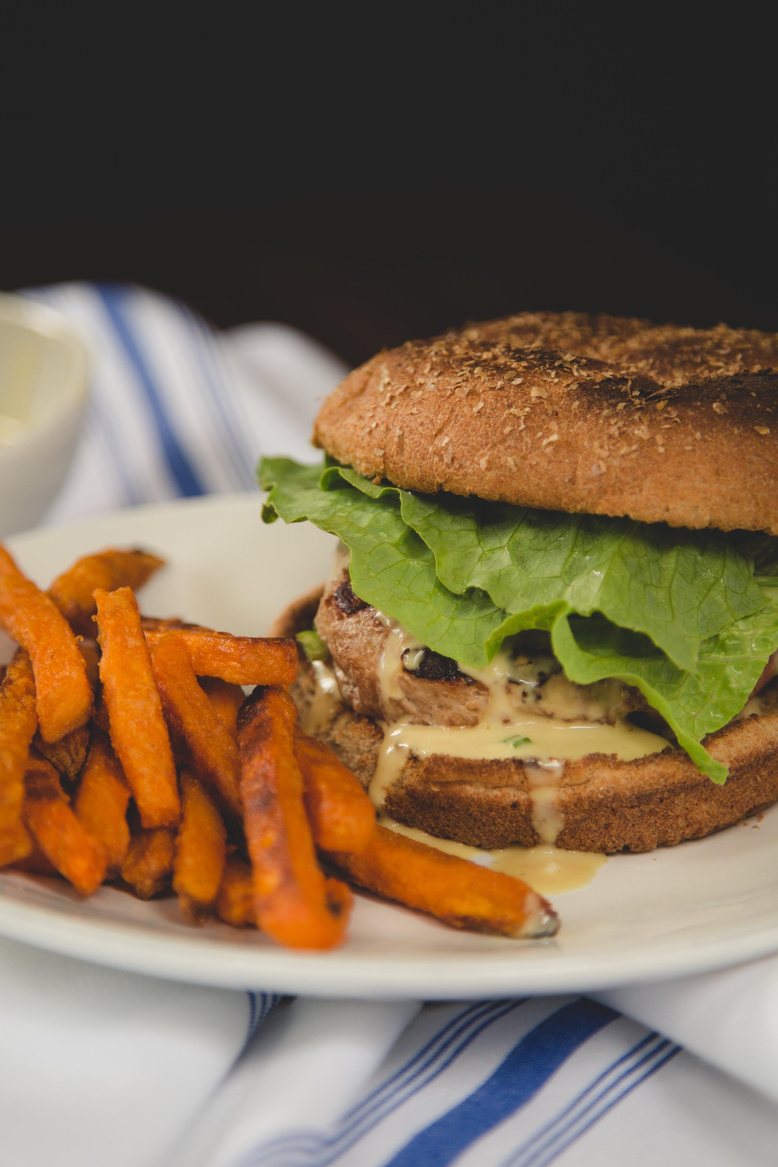 Turkey Burgers with Special Sauce | Soymilk + Honey