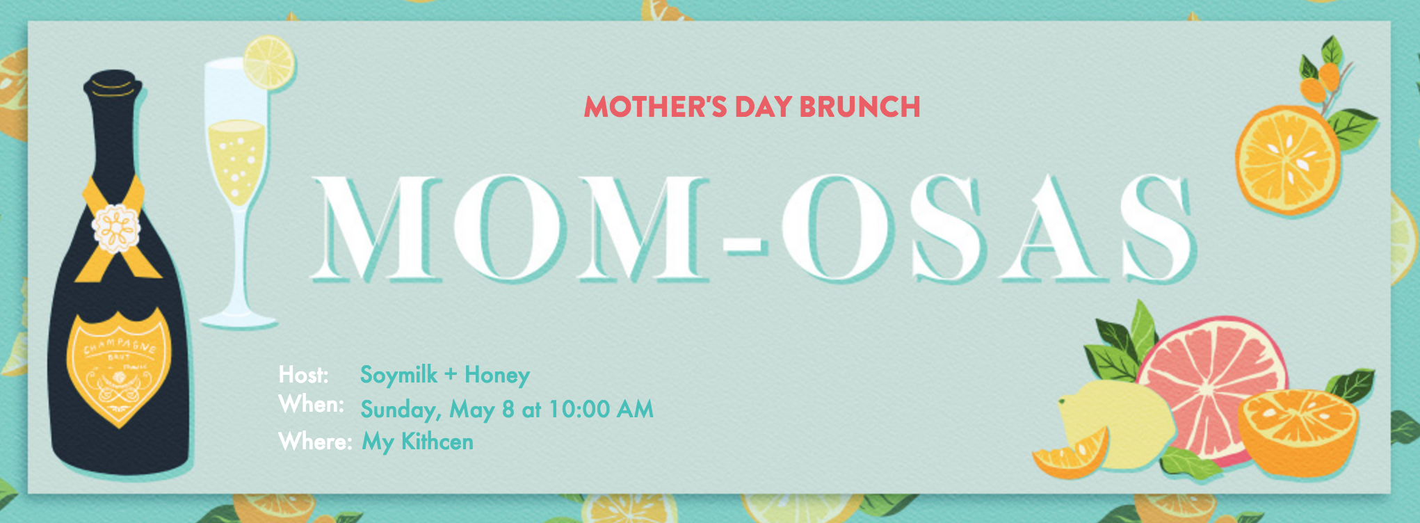Mother's Day Invitation - Evite