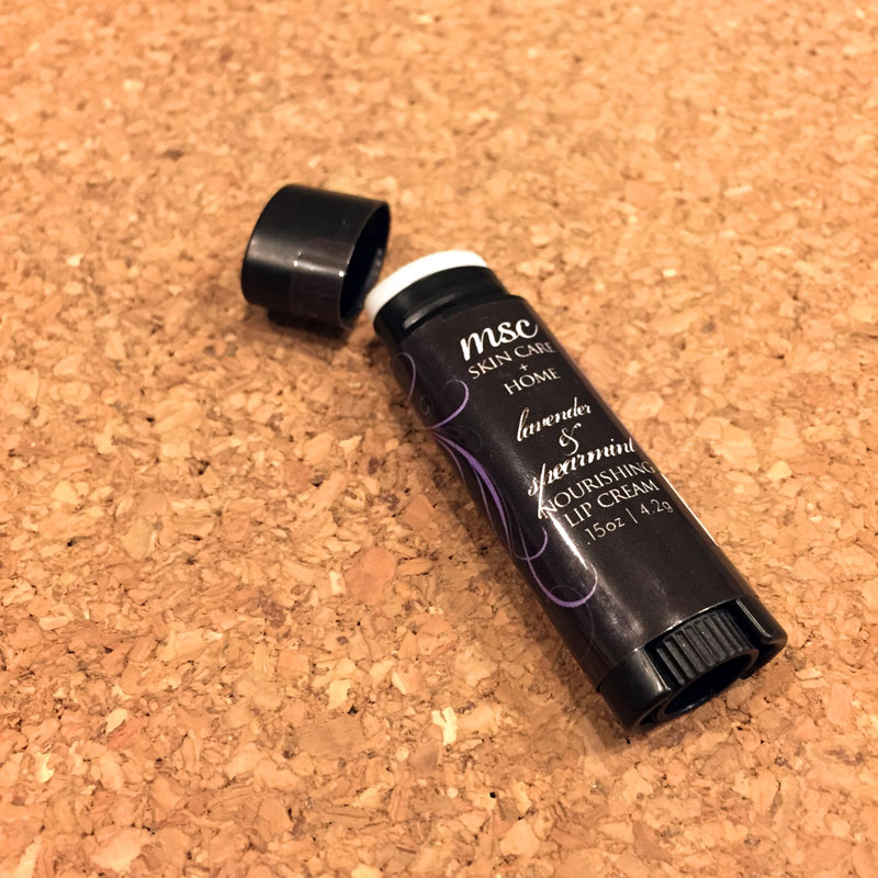 MSC Skin Care | Lavender & Spearmint Nourishing Lip Cream