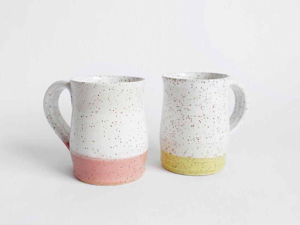 Speckle Pottery Mug