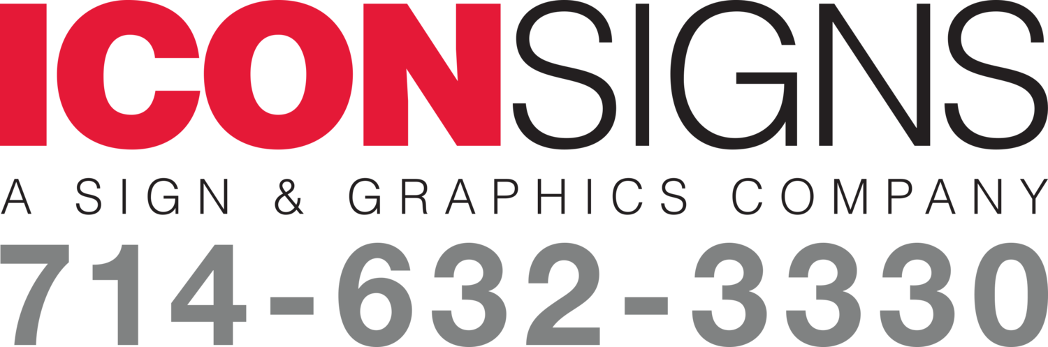 Icon Signs | Anaheim CA | Sign Shop