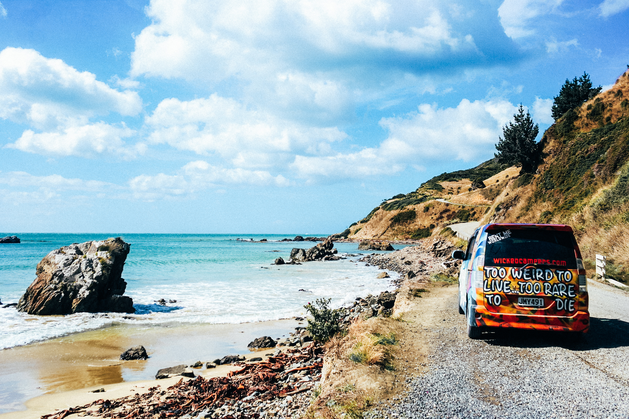 wicked camper tour