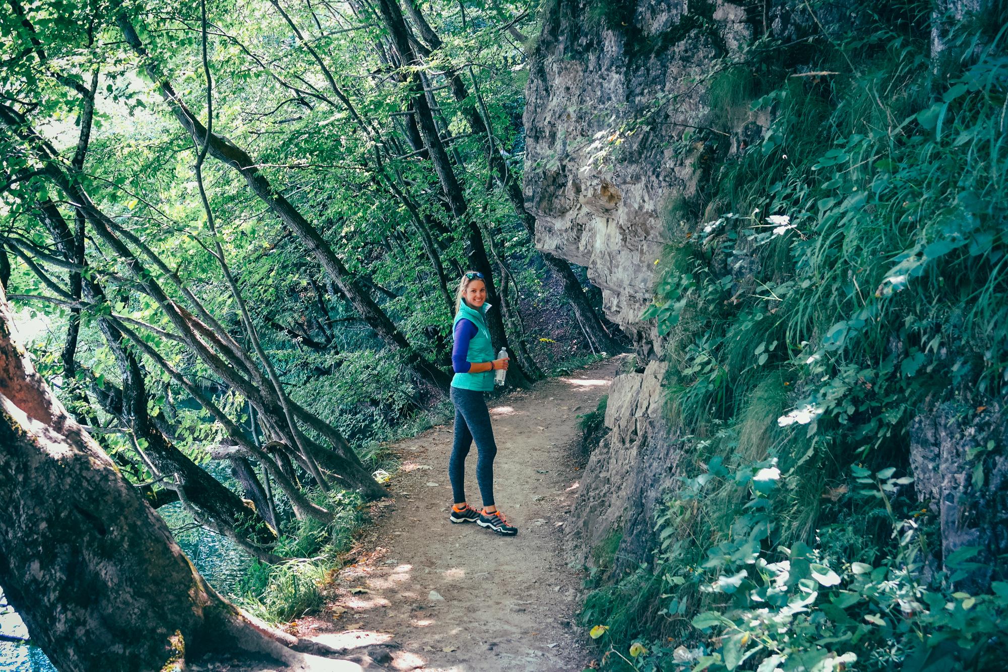 plitvice lakes hiking