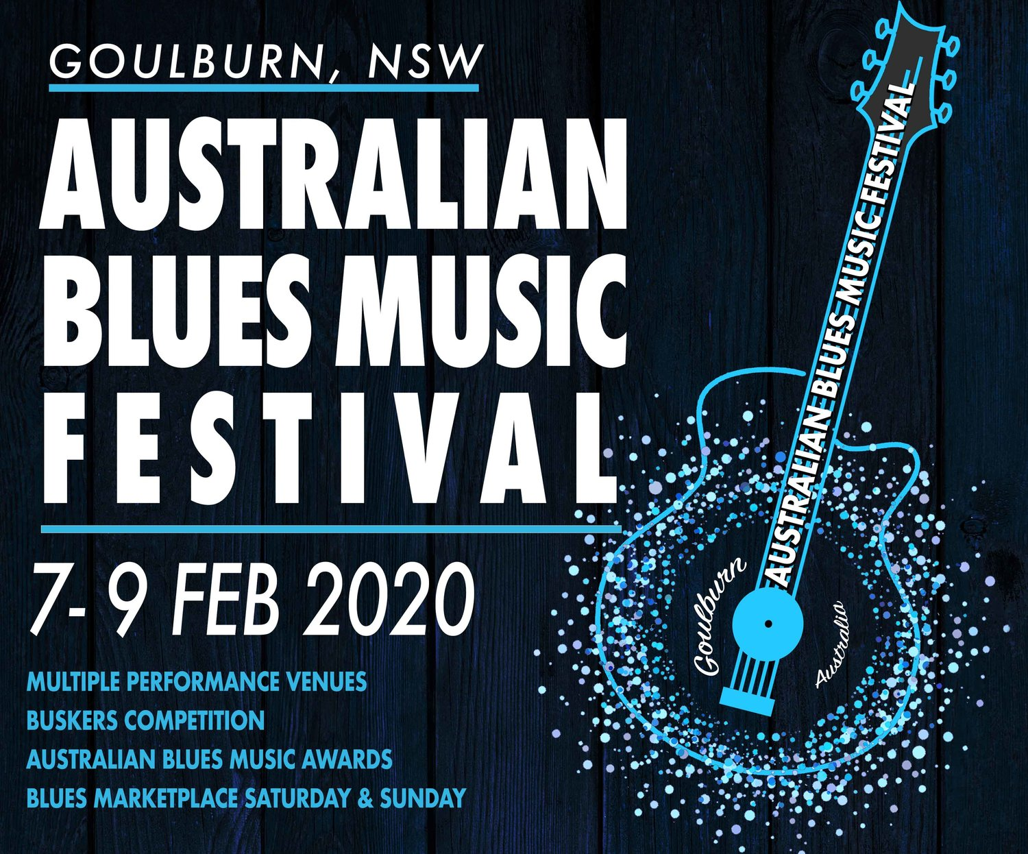 Oyster Festival 2020.Australian Blues Music Festival 2020 Australian National