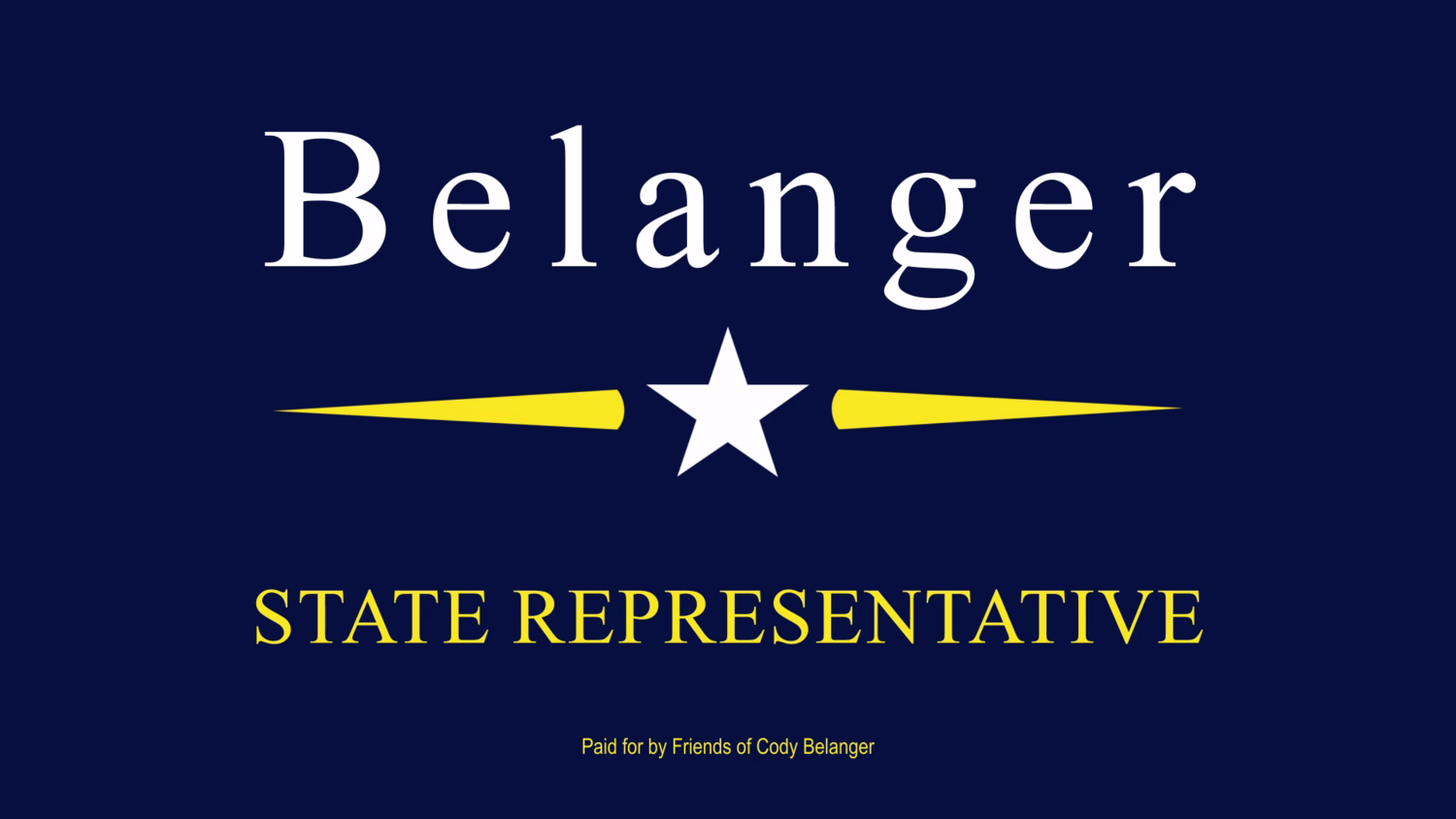 Belanger for New Hampshire