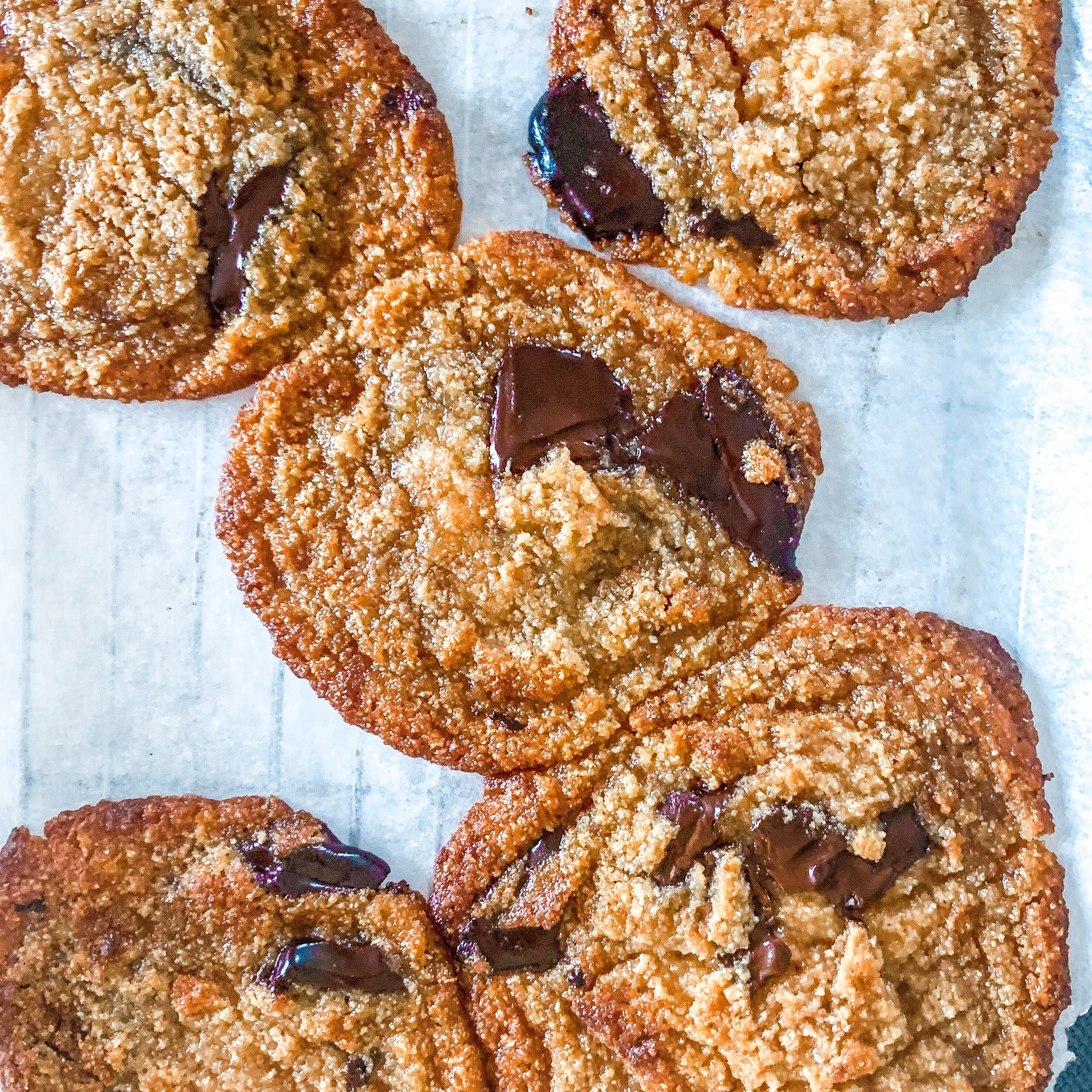 Vegan Keto chocolate chip cookies — Gia Macaroni
