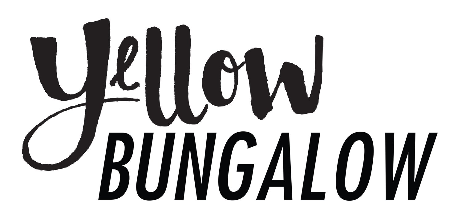 Yellow Bungalow | Design Your Life