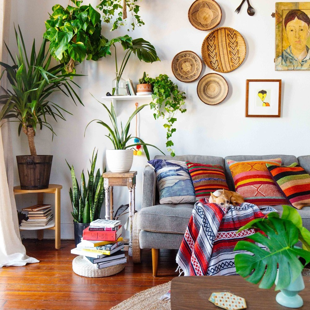 How To Bring Tropical Vibes To Your Living Room Yellow Bungalow Design Your Life