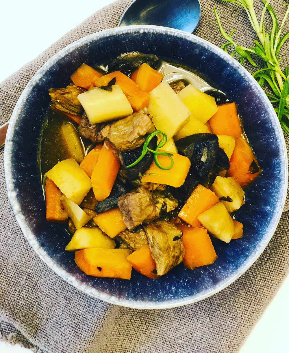 Aip Paleo Beef Stew Slow Cooker Recipe Alight With Healing