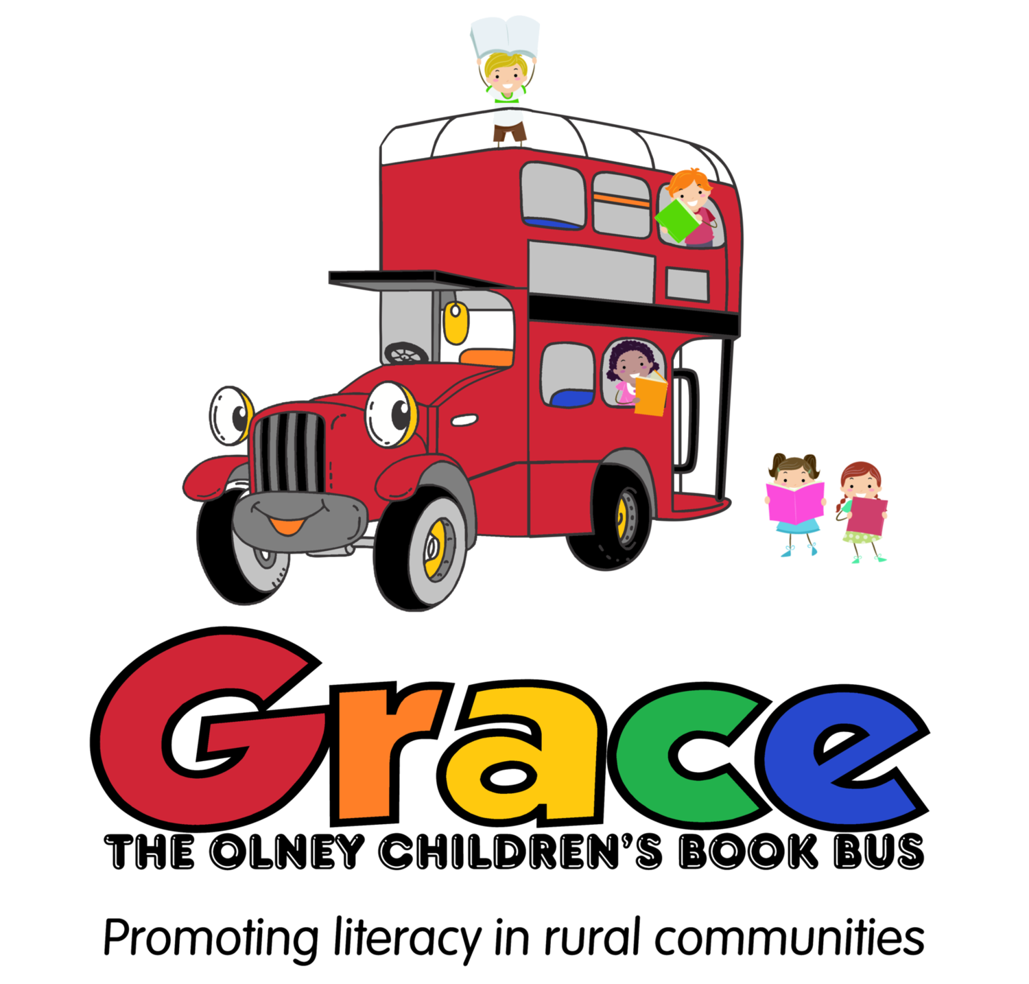Grace the Olney Bookbus