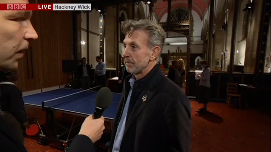 Henry Smith interviewed by BBC News