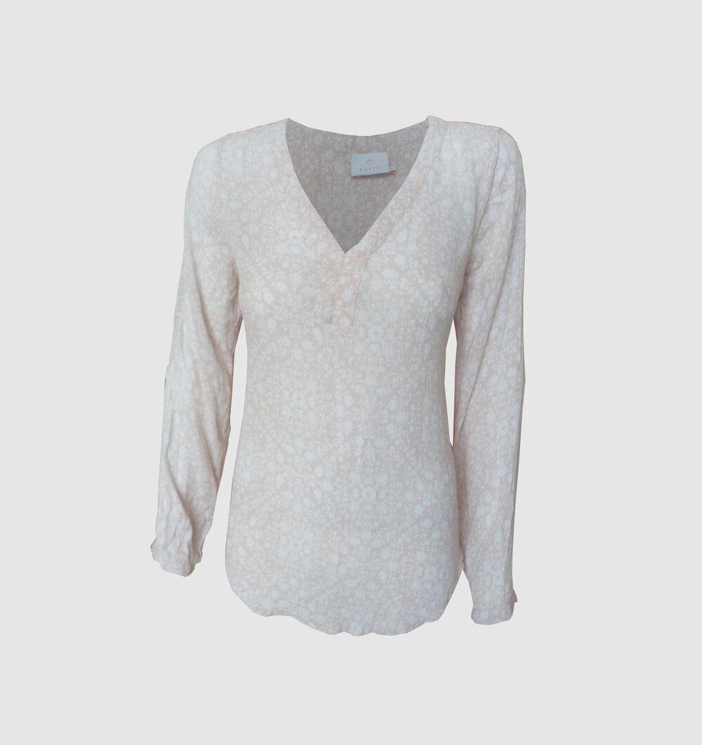 KAFFE Tilly Amber bluse. Str L — Bo Clothing
