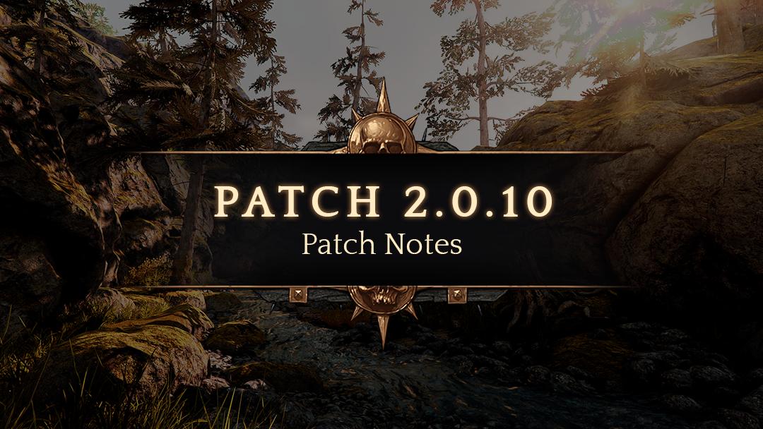 Patch 2.0.10 — Warhammer: Vermintide 2