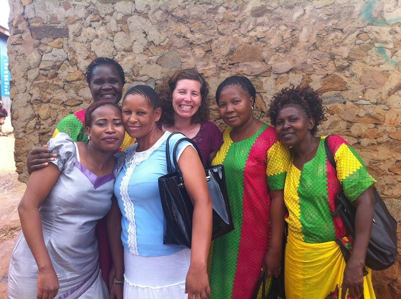 Tina and Kenya Women