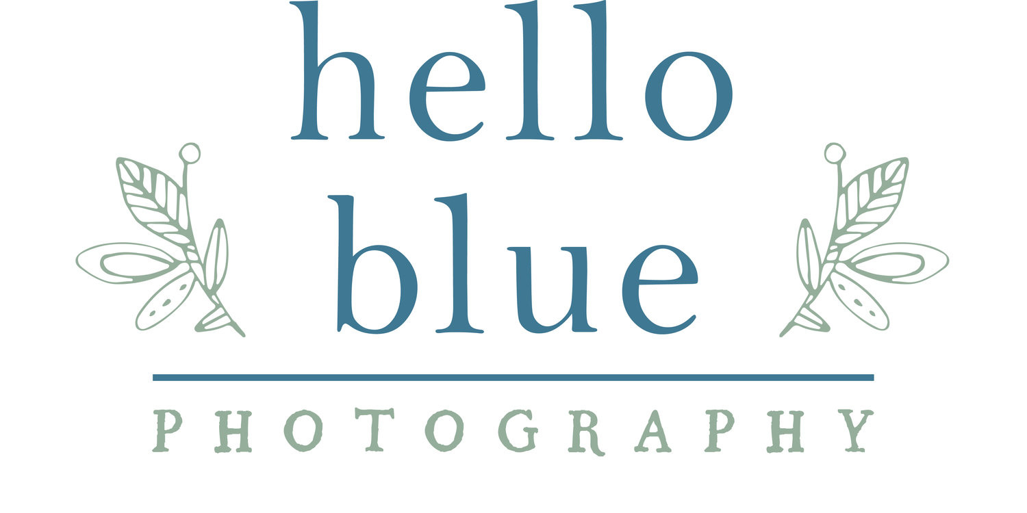 hello blue photography