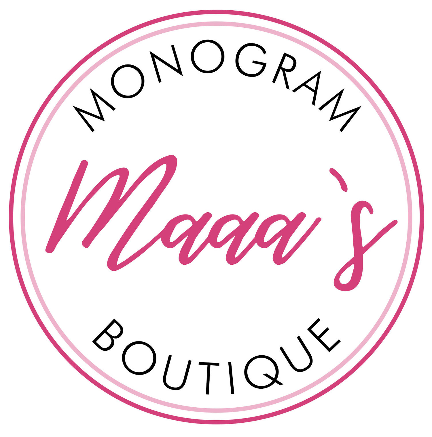 Maaa's Monogram Boutique