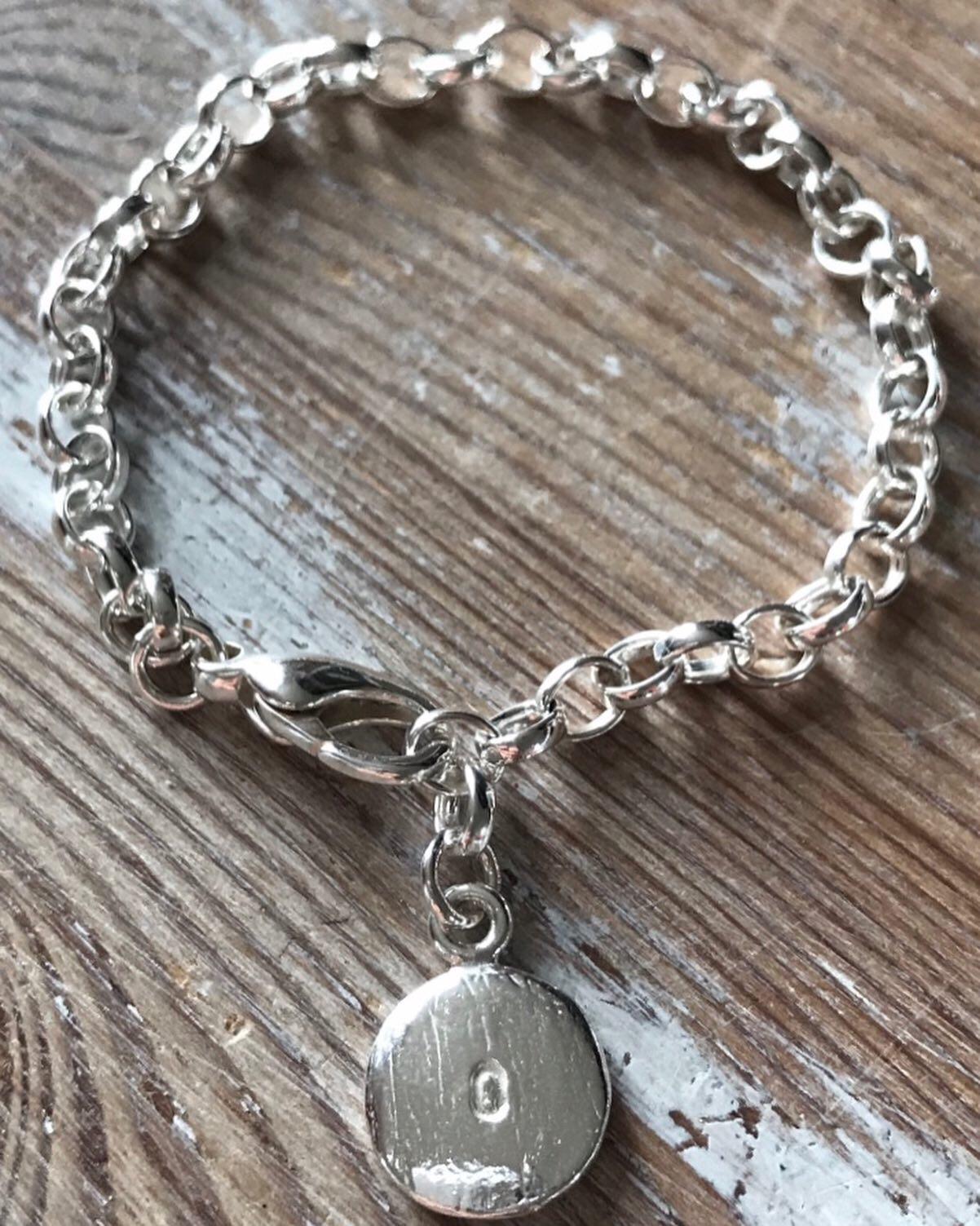 b2560421ec443 Simple Charm Bracelet — Stella & Stokes | Bespoke Handmade Jewellery