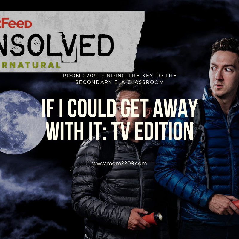 If I Could Get Away With It: TV Edition | Buzzfeed's Unsolved