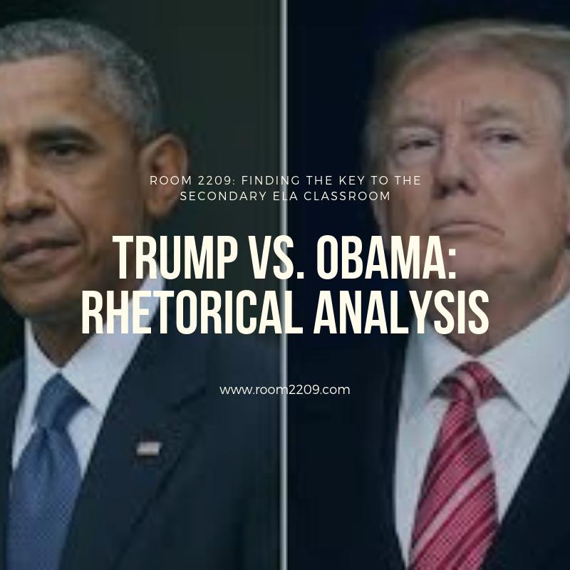 Trump vs. Obama: Analyzing Rhetoric