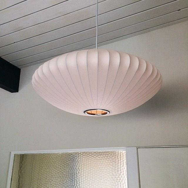 Bubble Lamp in Mid-Century House