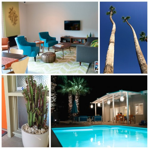 palm springs mid-century vacation home