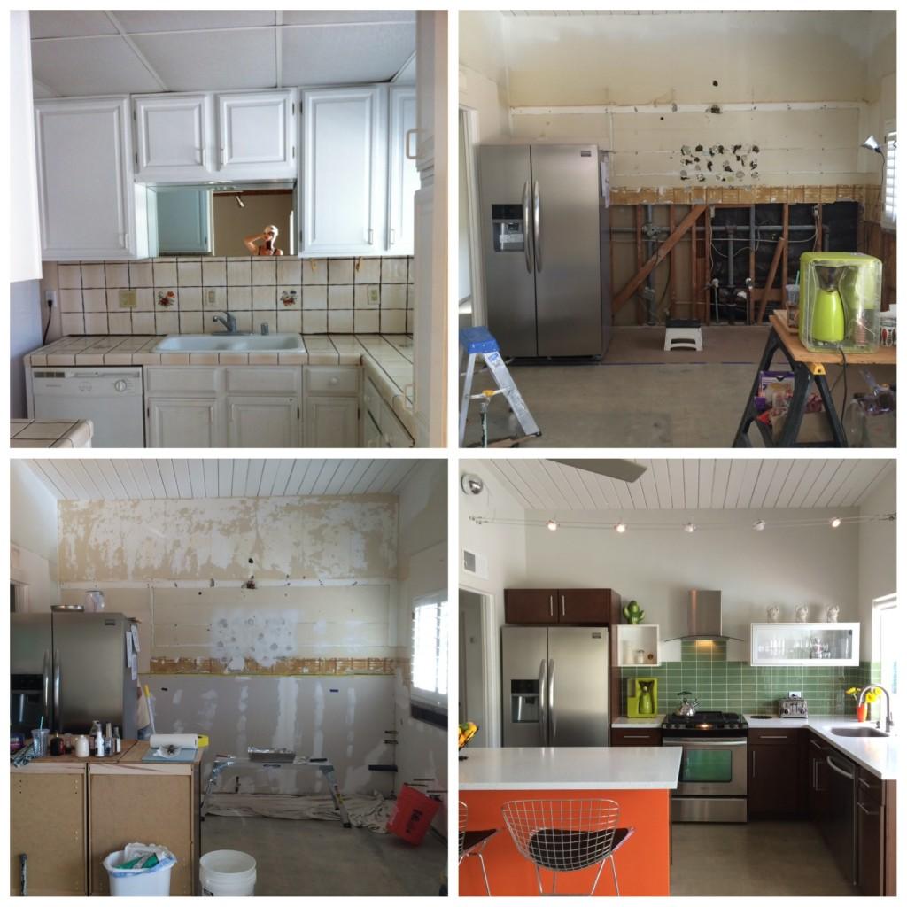 Palm Springs kitchen renovation