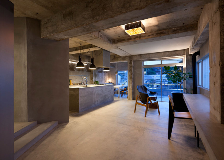 Bare-concrete-apartment-by-Airhouse-Design-Office-presents-its-own-fashion-exhibitions_dezeen_ss_12