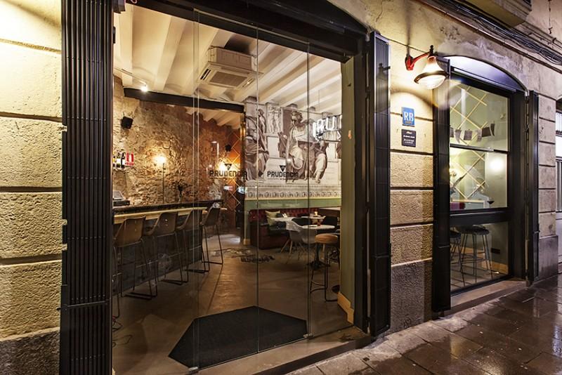 Interiorismo y reformas Estudio Onikot - Rita Rubira - Restaurante La Prudencia del Raval Barcelona - IMG_2839-Edit