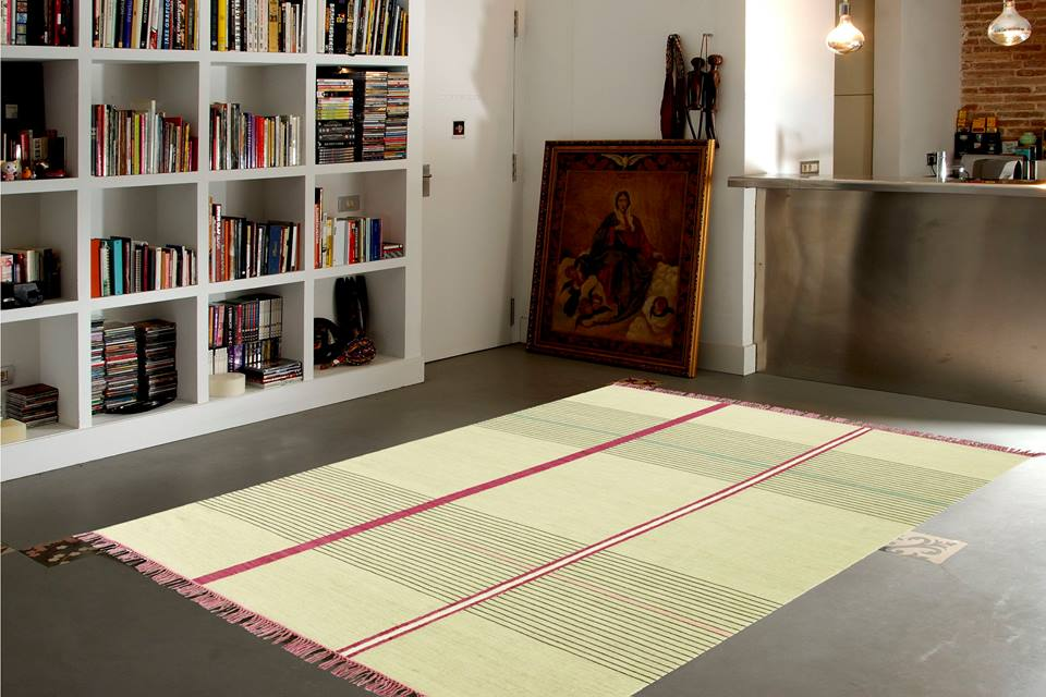 Diseño de alfombra de Fosca Bertrán, para DAC Rugs