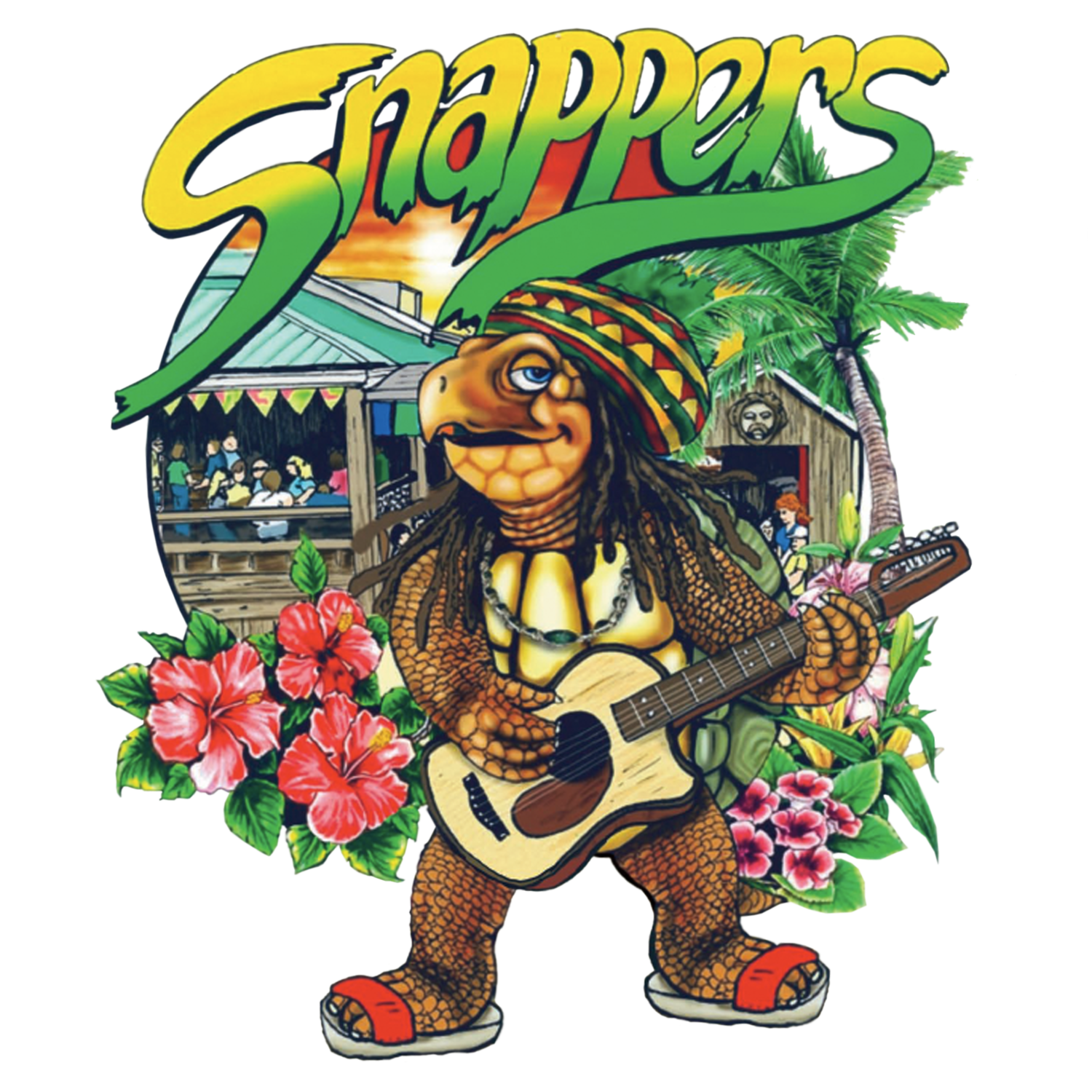 Snappers Waterfront Cafe + Tiki Bar