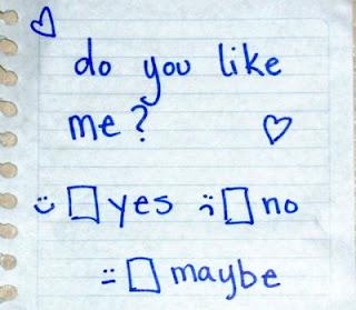 do you like me note