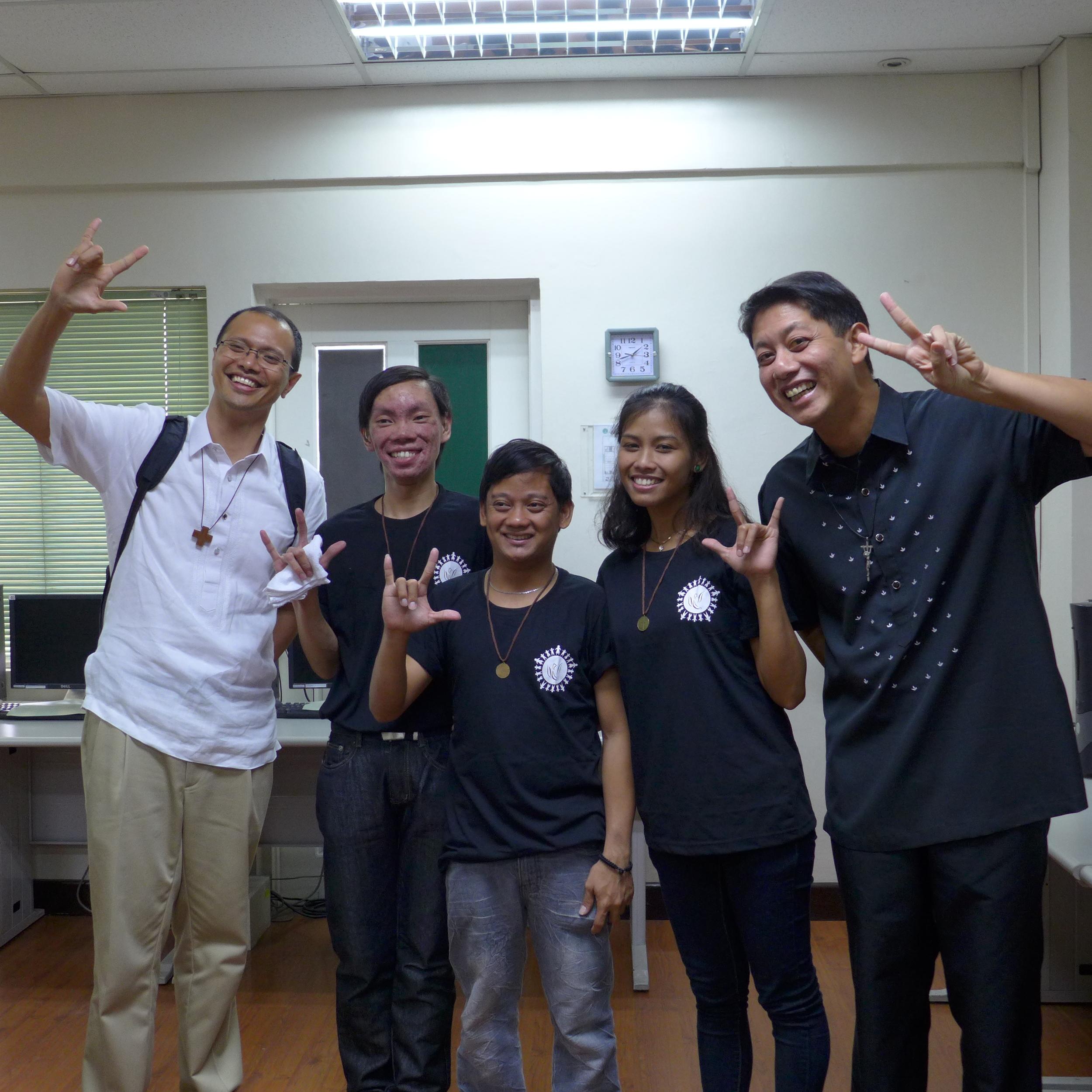 Photo courtesy of Br. JJ Jimenez FSC