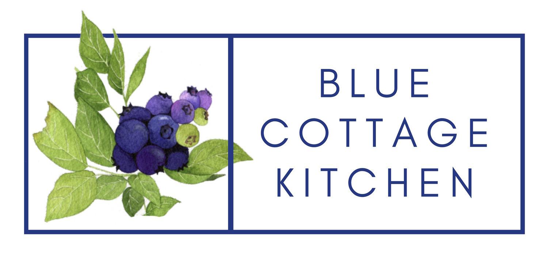 Blue Cottage Kitchen