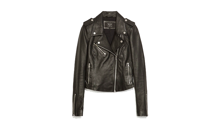 Zara 2014 Leather Biker Jacket