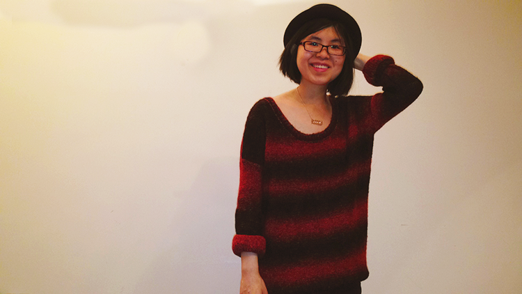 Summertime Comfort with an oversized mohair sweater