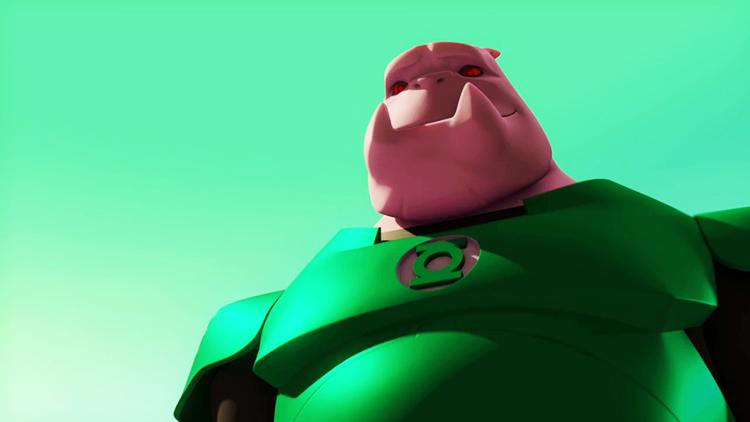 Green Lantern: The Animated Series - Kilowog