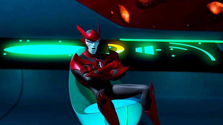 Green Lantern: The Animated Series - Razer