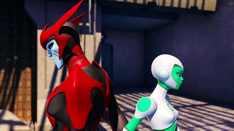 Green Lantern: The Animated Series - Razer/Aya
