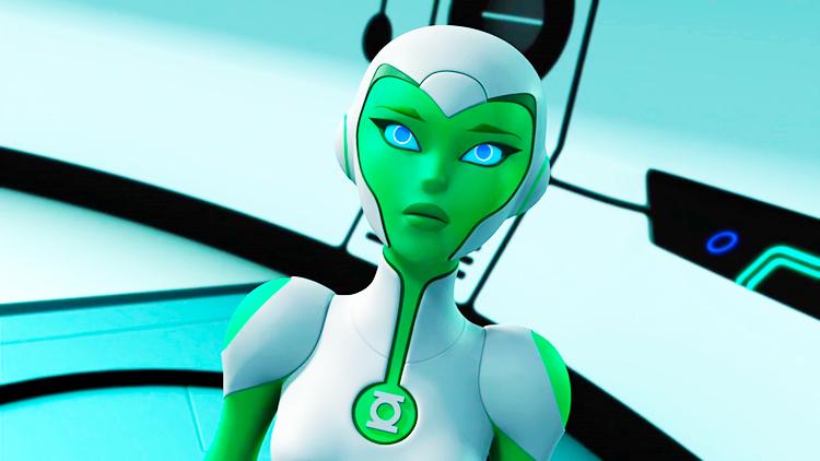 Green Lantern: The Animated Series - Aya