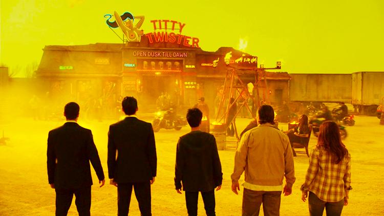 From Dusk Till Dawn, Titty Twister in El Rey