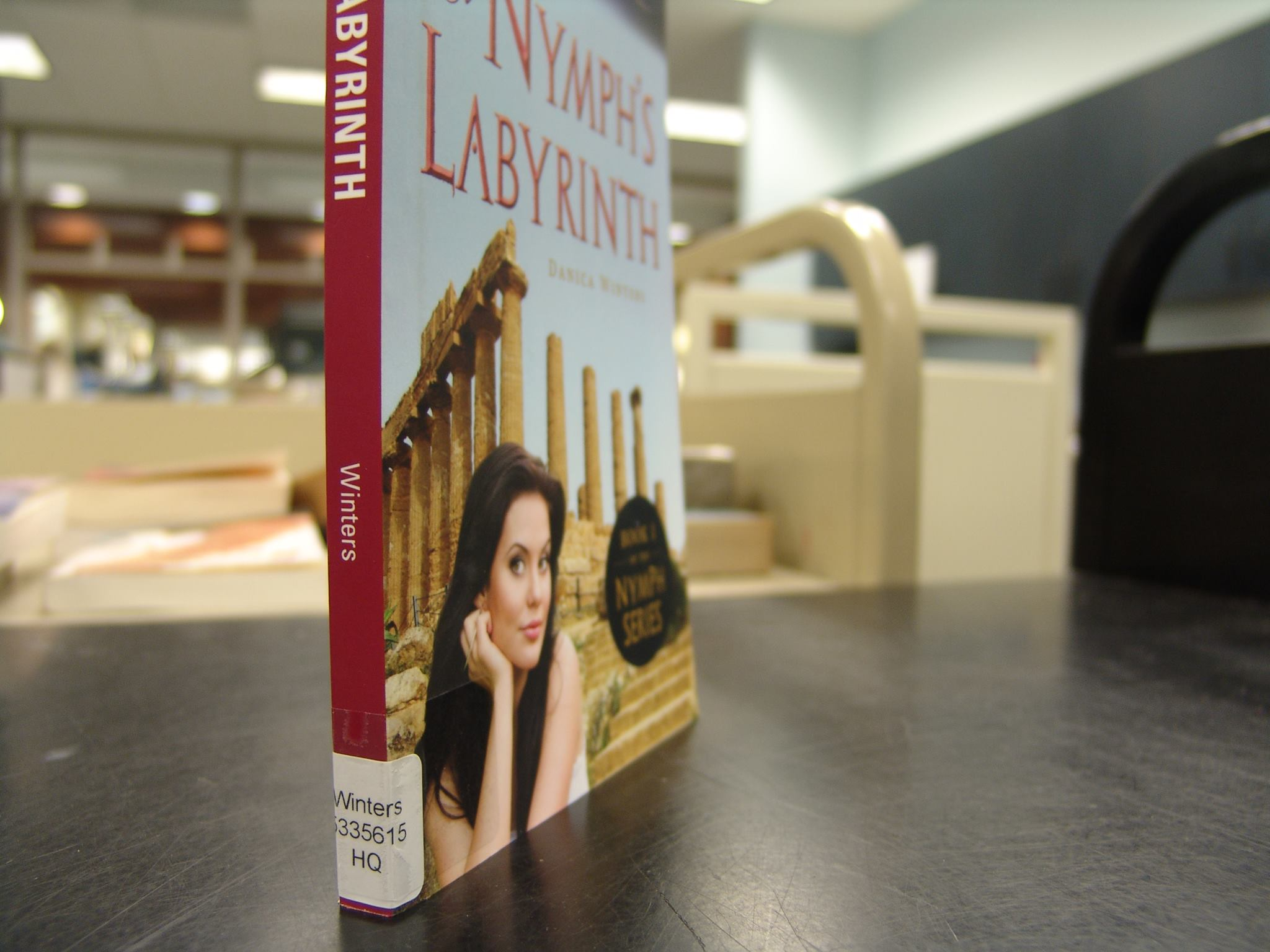 nymph's labryinth in library