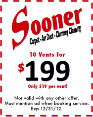 Air Duct Cleaning Coupon Norman