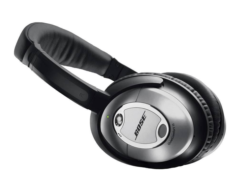 A snapshot of the Bose QuietComfort 15 headphones