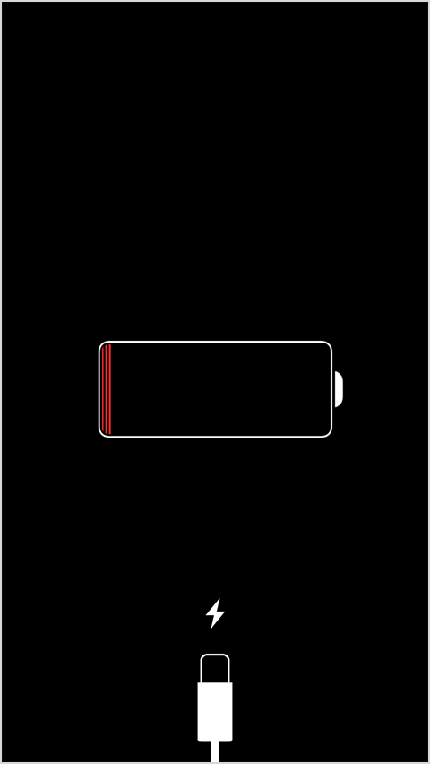 iPhone battery symbol not charging — Wires Computing Electronics Repair