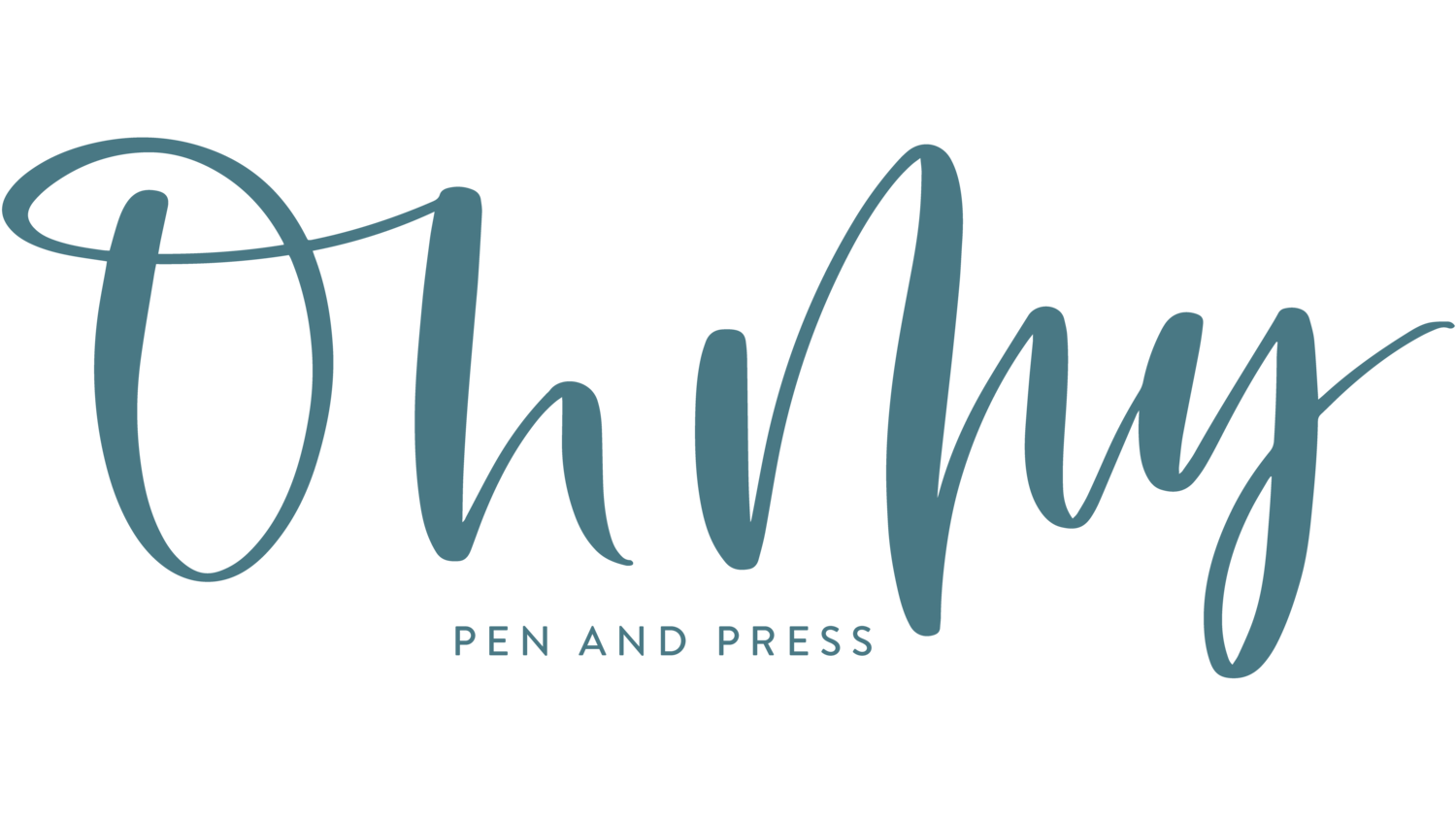 Oh My Pen & Press