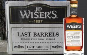 Last Barrels Canadian Whisky fromJP Wiser 2016