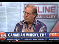 Davin de Kergommeaux discusses Canadian whisky with Brian Lilley on Sun News show, Byline
